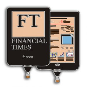 Financial Times Special Shape Balloon