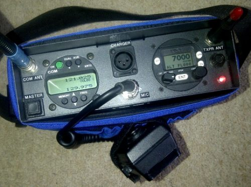 Dittel KRT 2 Transceiver Radio with Trig TT21 Mode S Transponder