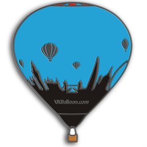 UK Balloon Pin