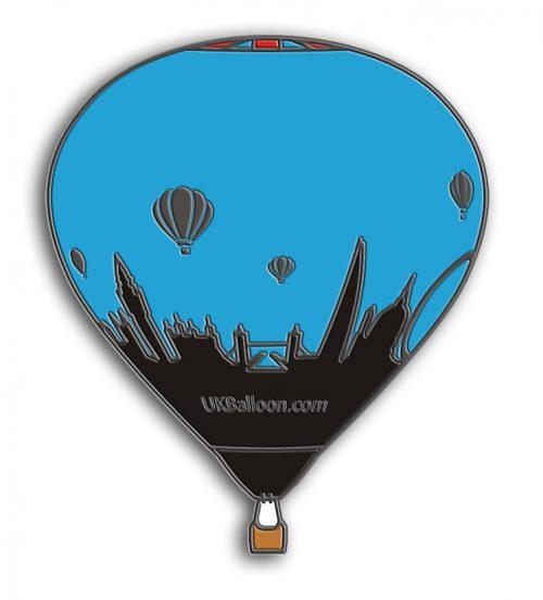 UK Balloon Pin