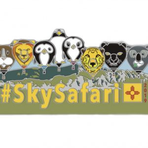 Albuquerque 2019 official SkySafari pin badge
