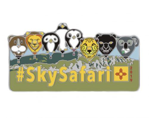 Albuquerque 2019 official SkySafari pin badge
