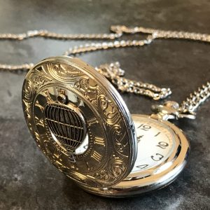 Hot air balloon pocket watch